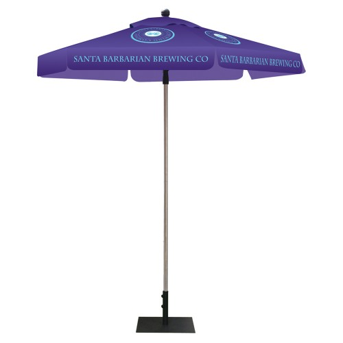 Skycap Promotional Umbrella Custom Printed Hexagon, Full Color