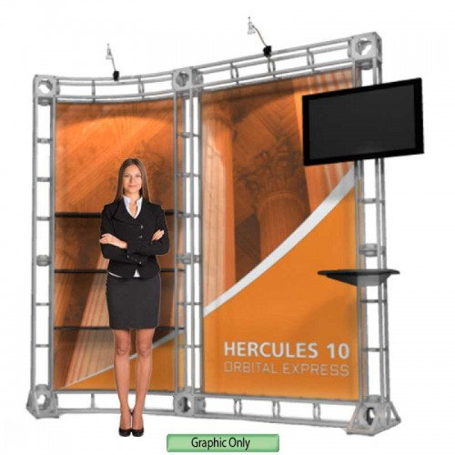 Custom Printed Graphic for Hercules Truss System 10' Kit 10