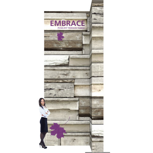 Embrace 7ft Wide Stacking Push-Fit Tension Fabric Display