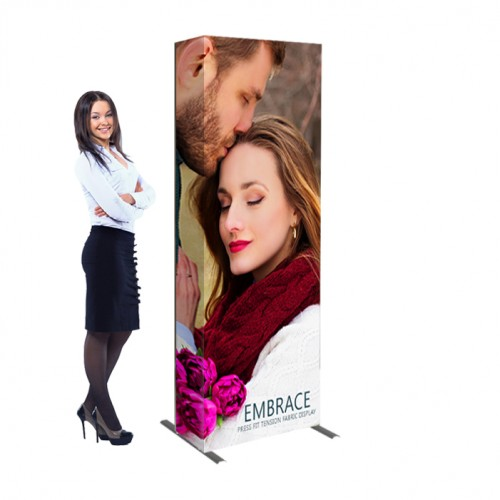 Embrace 2.5ft Tension Fabric Banner Display