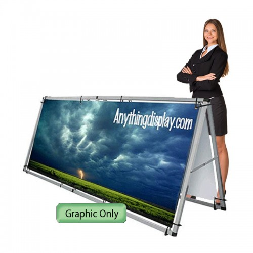 Custom Graphic for Monsoon Outdoor A-frame Billboard 8'