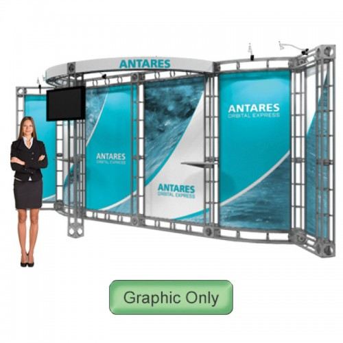 Graphic Only for Antares Truss 10ft x 20ft