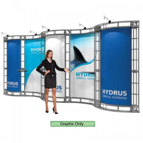 Custom Printed Graphic for Hydrus Truss System 10'x20'
