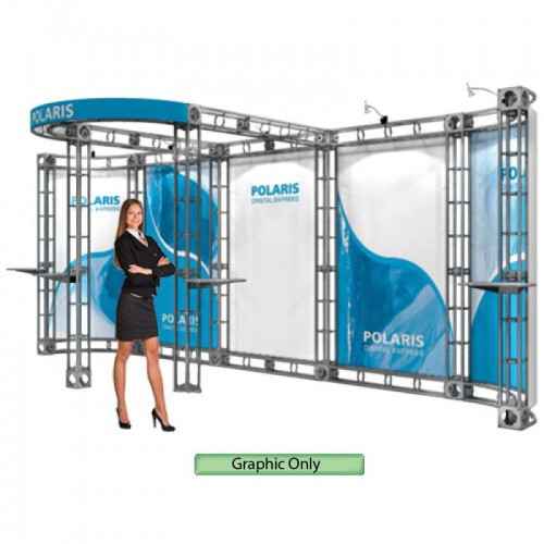 Custom Printed Graphic for Polaris Truss System 10'x 20'